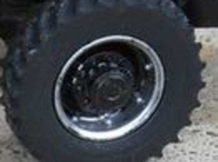 30 Inch FWA Wheel And Tire 3d printed Painted