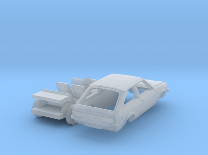 Vauxhall Chevette hatchback (British N 1:148) 3d printed