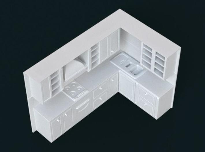 1:39 Scale Model - Kitchen Set 01 3d printed