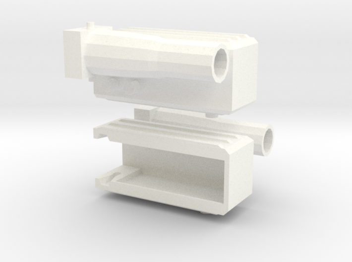 Fortress Maximus Waist Guns 3d printed