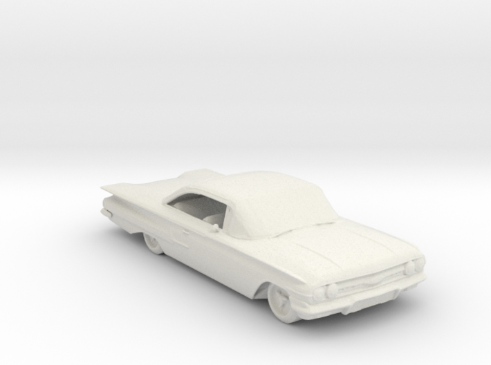 Jeepers creeper 60 chevy 87 scale 3d printed
