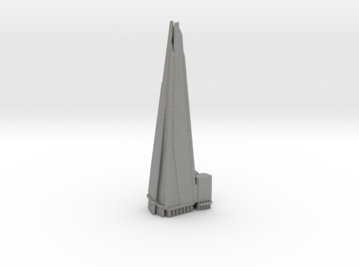 The Shard - London (1:4000) 3d printed