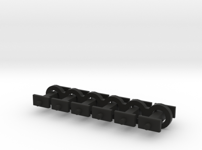 N Scale 7mm Fixed Coupling Drawbar x6 3d printed