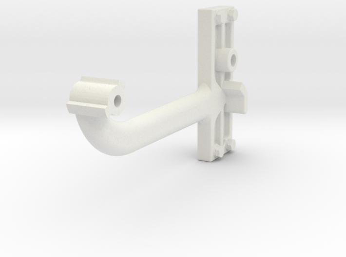 Signal Semaphore Arm (Long) w/bolts 1:19 scale 3d printed