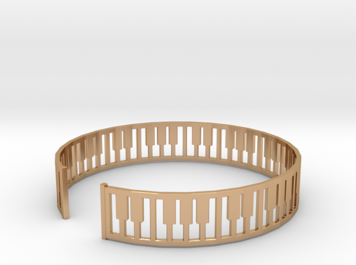 simple piano frame cuff 3d printed