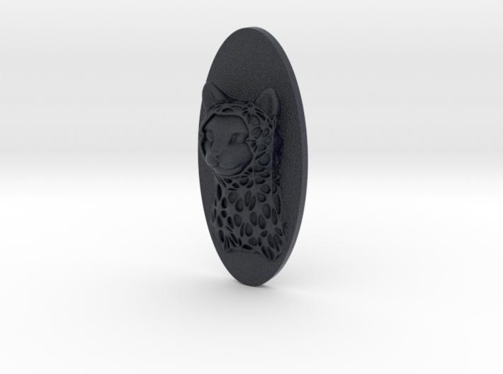 Cat Face + Half-Voronoi Mask (001) 3d printed