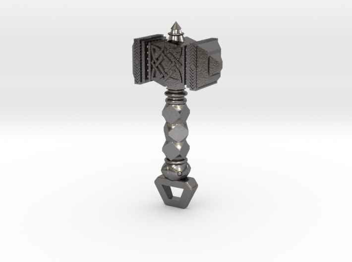 Mjölnir Hammer Pendant 3d printed