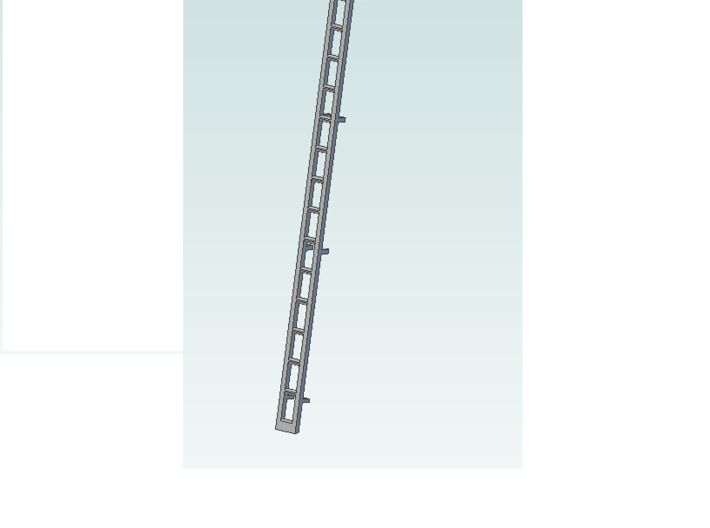 ladder 4 pc 2 in 14ft  Assembly (1) 3d printed single ladder