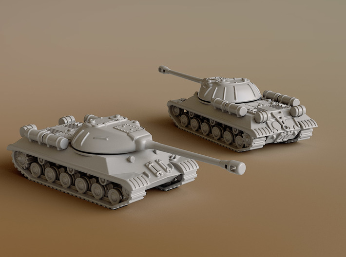 IS-3 Heavy Tank Scale: 1:144 3d printed