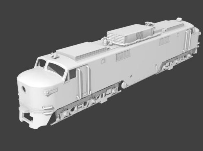 NEP501 N scale EP-5 loco - as built 3d printed