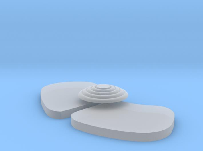Signal Semaphore Lenses 1:19 scale 3d printed