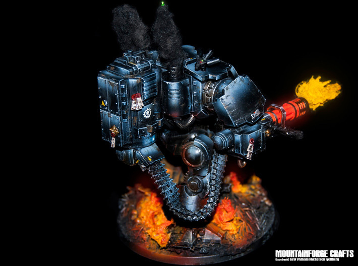 CBUmbra Eagles Ammo System Redemptor Dread 28mm 3d printed MountainForge Craft Painted
