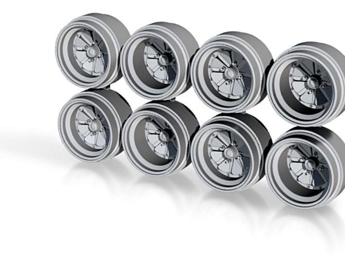 Super River 8-6 Hot Wheels Rims 3d printed