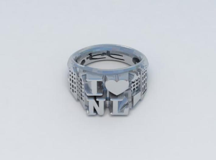 I Love Holland Ring D20 3d printed