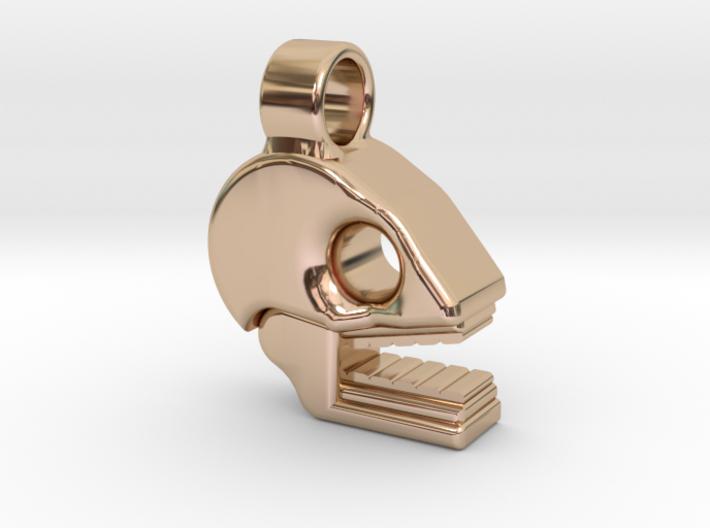 Mictlan pendant 3d printed Great style at reach!