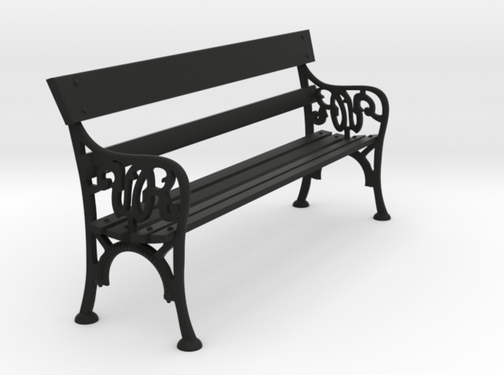 Victorian Railways Station Bench Seat 1:19 Scale 3d printed