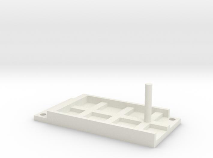 Model Railway Terminal Block Mount (22mm) 3d printed