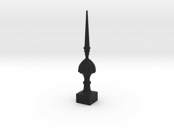 Signal Finial (Victorian Spike) 1:22.5 scale 3d printed