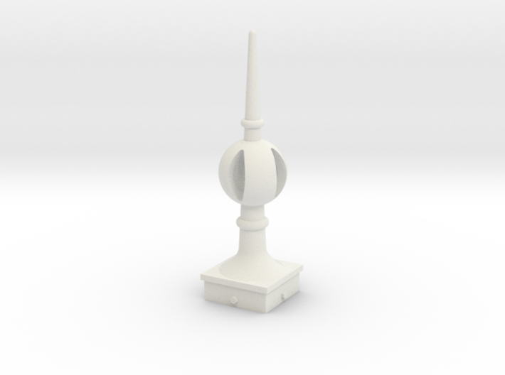 Signal Finial (Open Ball) 1:24 scale 3d printed