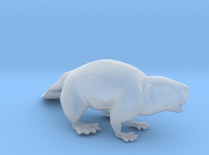 Beaver Standing 3d printed