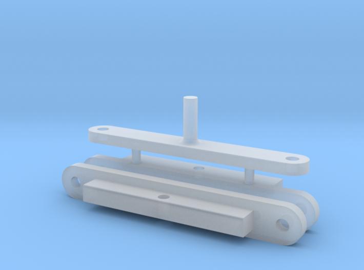 Lenkung 22mm 1/87 für Wiking Xerion 3d printed