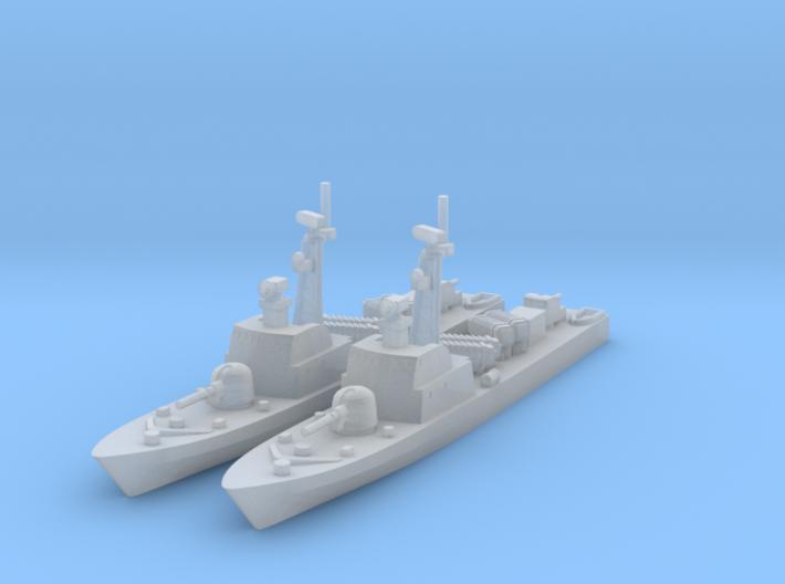 1/1800 Tiger FAC x2 (FUD) 3d printed