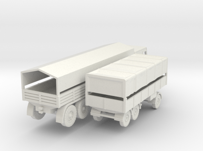 1/120 Faun L1500 D987 German Wehrmacht truck 3d printed