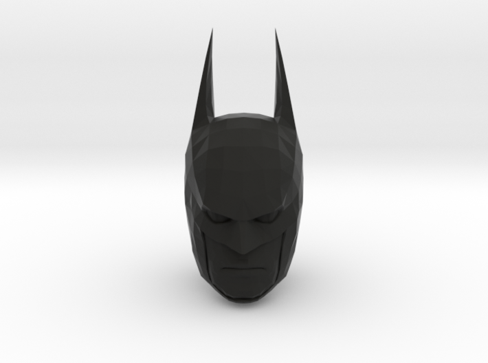 Batman Head 3d printed
