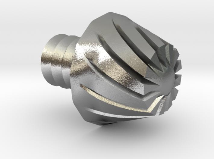 Nerf Elite Micro Dart Rifled Replacement Tip 3d printed