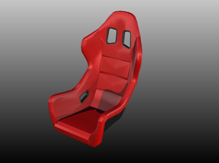 Race Seat - FType - 1/24 3d printed