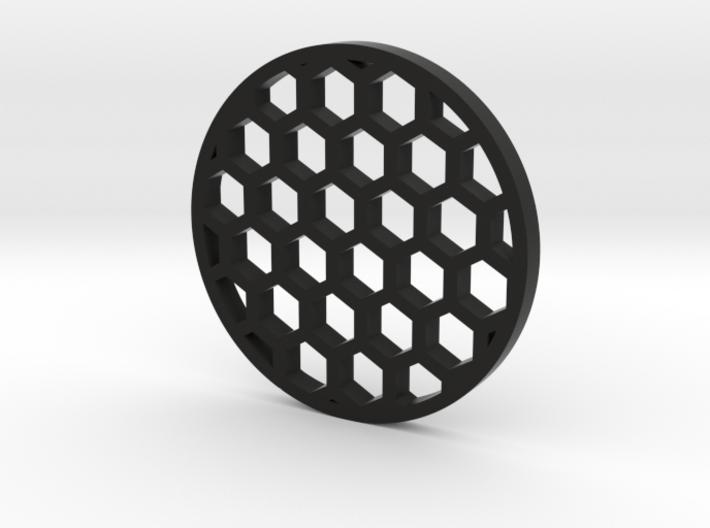 38mm honeycomb 3d printed