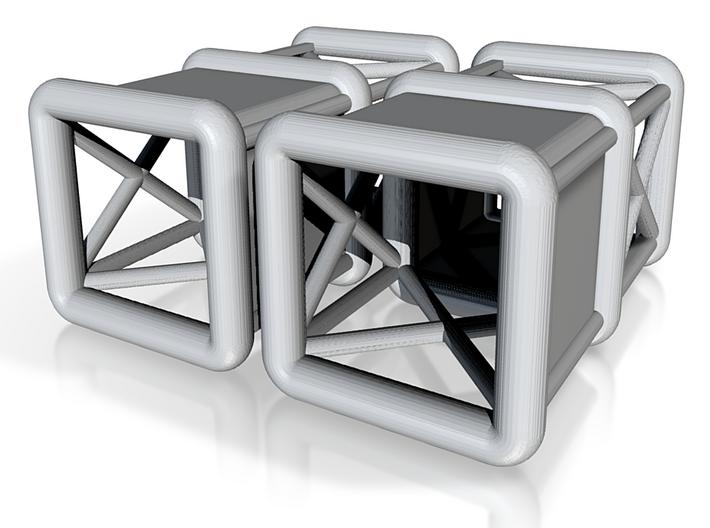 Gauges Scafold 3 3d printed