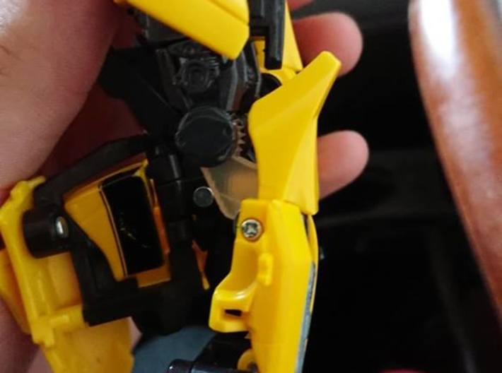 Correct Scale Knees for Bumblebee MPM 3d printed Custom Version
