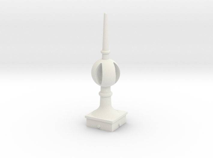 Signal Finial (Open Ball) 1:6 scale 3d printed