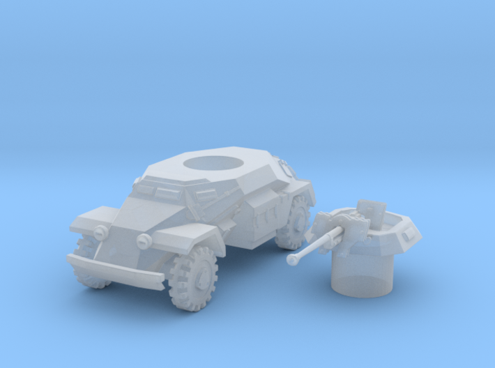 sdkfz 221 scale 1/87 3d printed