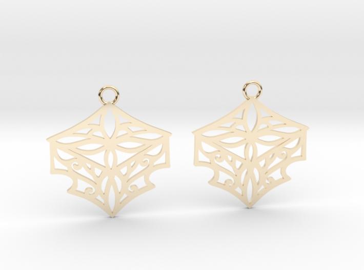 Adalina earrings 3d printed