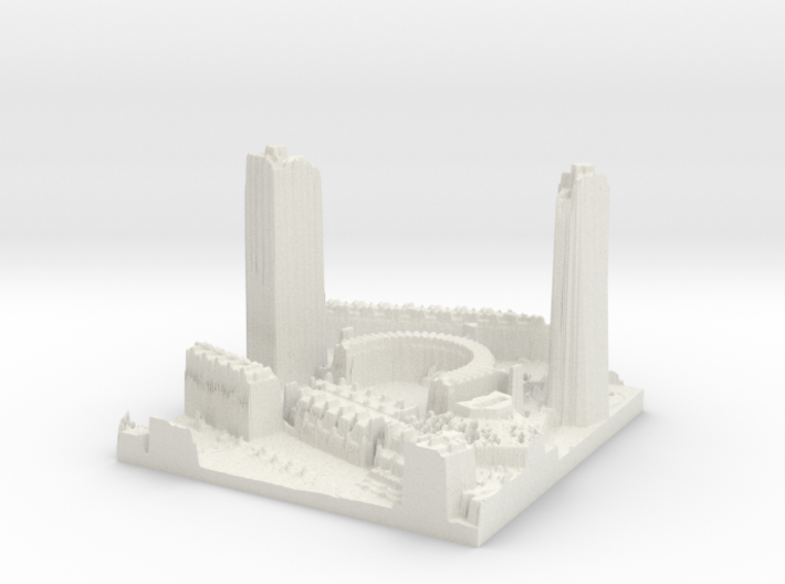 Barbican Centre, London 3d printed