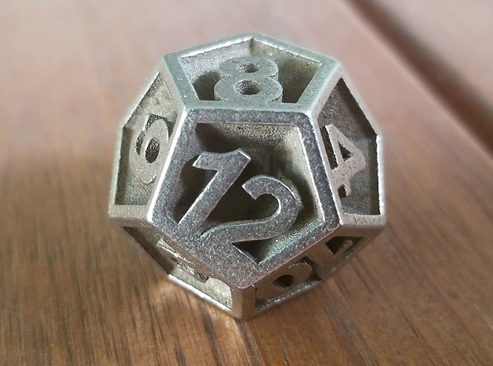 D12 - Plunged Sides 3d printed