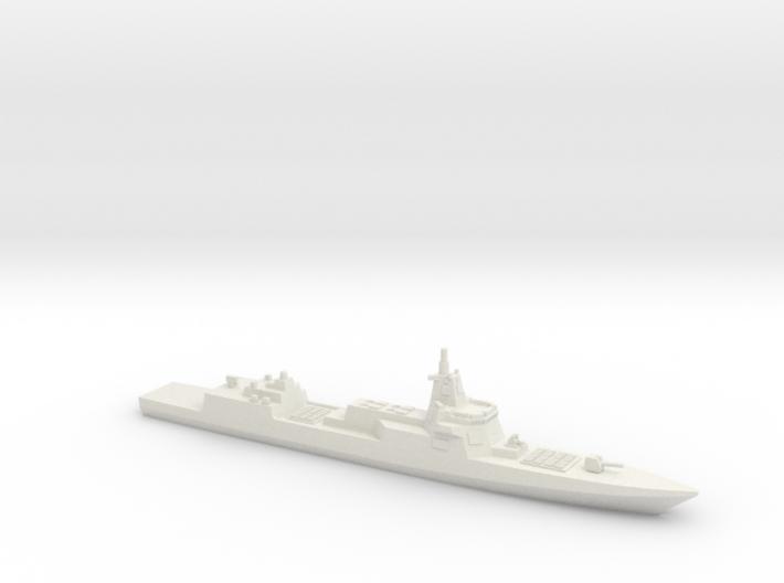 055 Destroyer (2017), 1/1250 3d printed