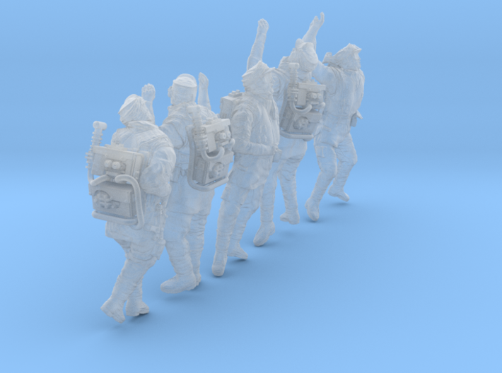 1/48 Antarctic Troops Set105-02 3d printed