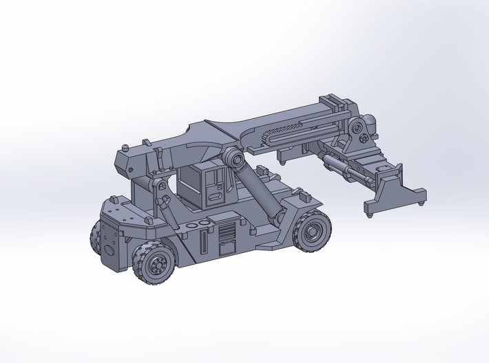 SCA LCH RS 45 loaded container handler 3d printed