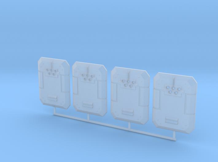 Ballistic shield 3d printed