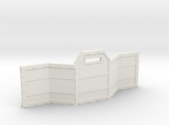 Gun Line Barricade 3d printed