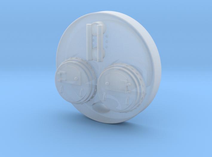 N Steam Boiler Front 1 3d printed