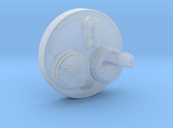 N Steam Boiler Front 2 3d printed