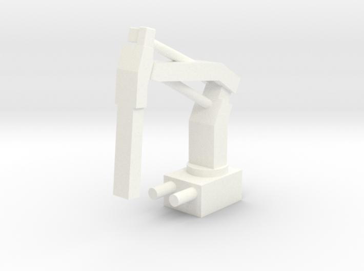 Crane (1:200) 3d printed