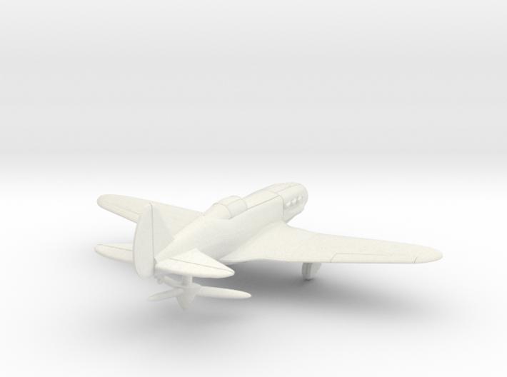 1/144 Soviet MiG-3 wheels down 3d printed