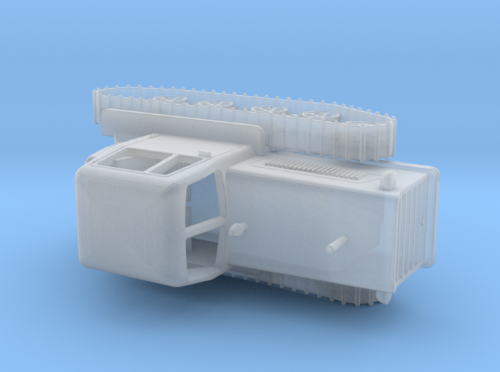 1/87th scale (H0) soviet DT-75 tractor 3d printed