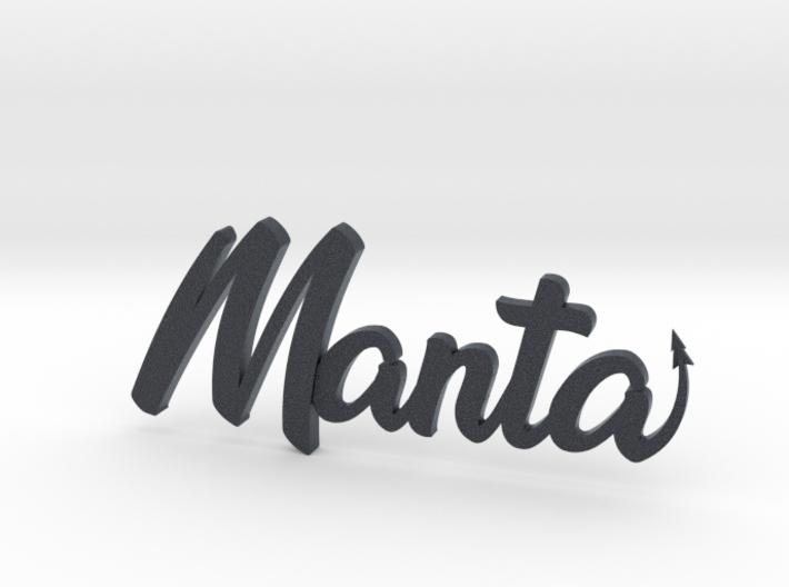 Manta Buggy Badge 3d printed