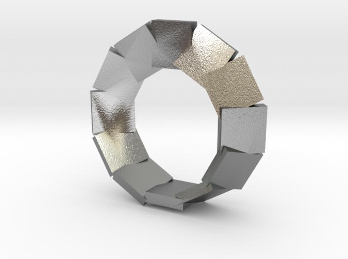 jewelry mobius segmented plates 3d printed